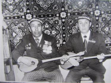 Встреча с командиром в 1980 году