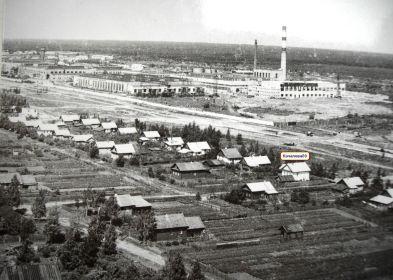 Рыбинск, ул. Качалова д.69 1971г.  дом Финогенова В.М.
