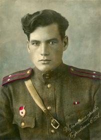 28 сентября 1944 года. Кисловодск. Во время приезда с 1-го Белорусского фронта из под Варшавы. 10 октября 1944 опять на фронт.