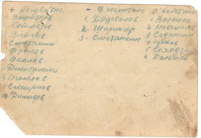 694-й ШАП. Конец августа 1942 года. Под Сталинградом. (подпись)