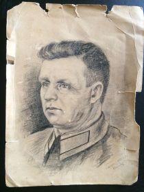Портрет,нарисованный сослуживцем