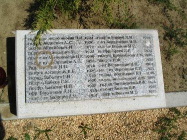 Фото захоронения в Зирце