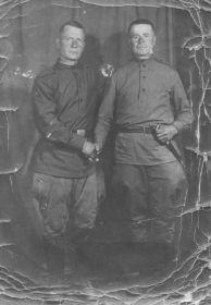 С боевым товарищем (товарищ из Запорожской области, Криворожского района)