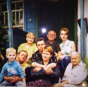 У дедушки с бабушкой в деревне
