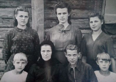 Лето 1945 д Морозово