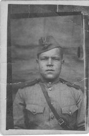 Кирьянов Григорий Игнатьевич в начале войны.