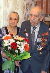 С супругой Марией Сергеевной, 61 год в браке