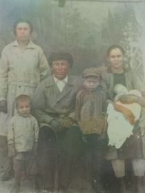 Семья Кузевановых 1933 г.