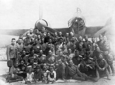 12 БАП 334 БАД. 1946.07. Сахалин. Кэтон. Фото из архива семьи Мордашова Б. Т.