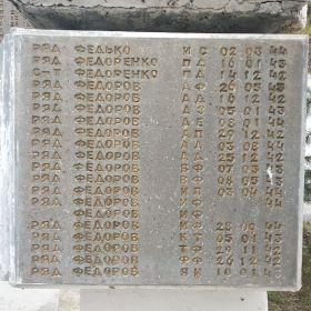 Воинское мемориальное кладбище. г. Великие Луки. Стелла 242