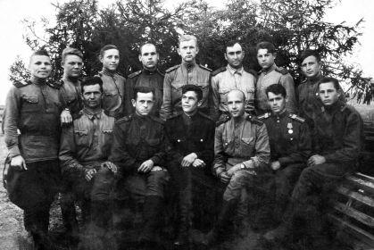 12 БАП 334 БАД. 1944.09.06. Слобода. Фото из архива семьи Мордашова Б. Т.