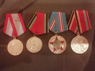 Фото юбилейных медалей
