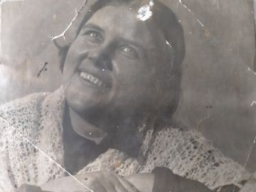 жена солдата Дубовая Александра Васильевна