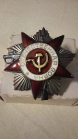 Фото юбилейного ордена