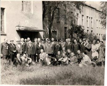 Встреча с однополчанами в Бресте