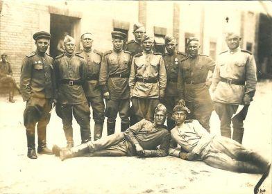 Чехословакия после вручение грамот 09.06.1945