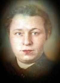 Кудряшова Валентина. Фото 1941 г.