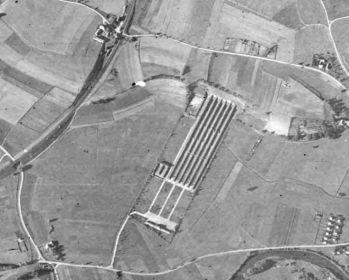 1943 г. Аэрофотосъемка полигона Хебертсхаузен и окрестностей.