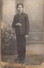 Попов Илларион Федорович. Фото 1914 года.