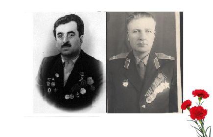 Со свёкром Григорьяном