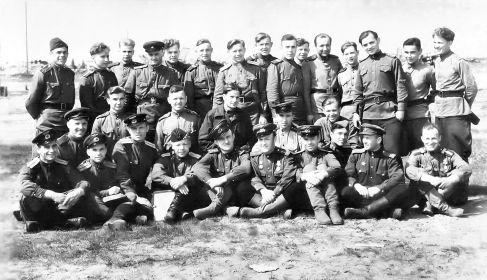 12 БАП 334 БАД. 1945. Познань. Польша. Однополчане