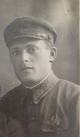 Старший лейтенант АЛИЕВСКИЙ Е. Ф.