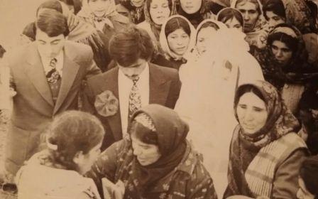 Зейналова Пурза Байрам кызы ( на свадьбе родственника )