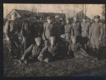 Комэски 303-й истребительно-авиационной дивизии (предположительно)