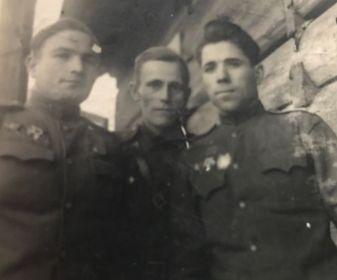 Офицеры 211 Черниговской стрелковой дивизии