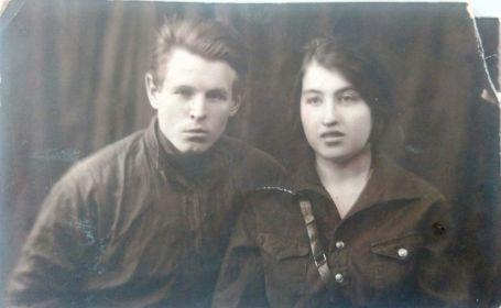 Алексей Ивашкин с женой Ивашкина Татьяна Ивановна перед войной