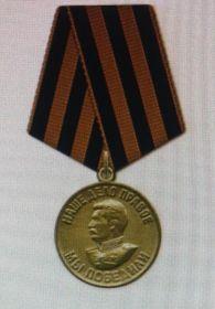 Медаль За победу над Германией в Великой Отечественной войне 1941-1945гг.