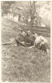Аляев П.А. с товарищами