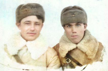 Татаринцев Н.Е. (справа)