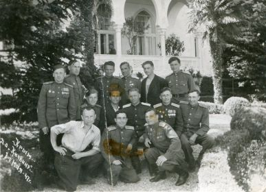 Звеняцкий Иосиф (нижний ряд в центре)