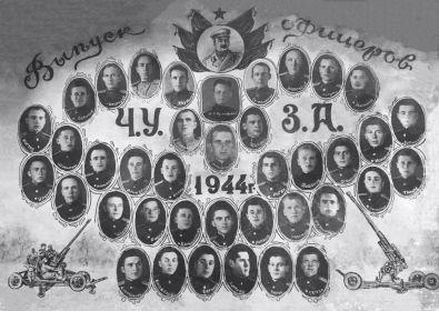 Выпуск Чкаловского училища зенитной артиллерии