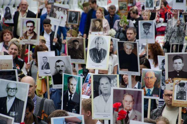 Где заказать транспарант с портретом своего героя в Санкт-Петербурге. 2019 год