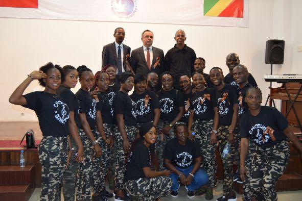 Концерт в честь Дня Победы в Конго - 2019