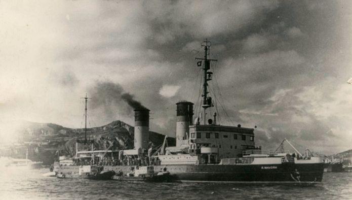 «Два капитана»: на сайте Полка встретились потомки легендарных моряков