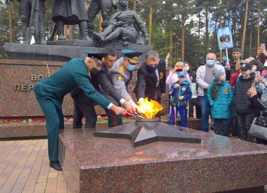 Огонь Памяти в Ангарске