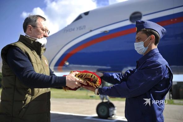 «Не можем на земле – сделаем в небе»: в Челябинской области зарождается новая традиция Бессмертного полка