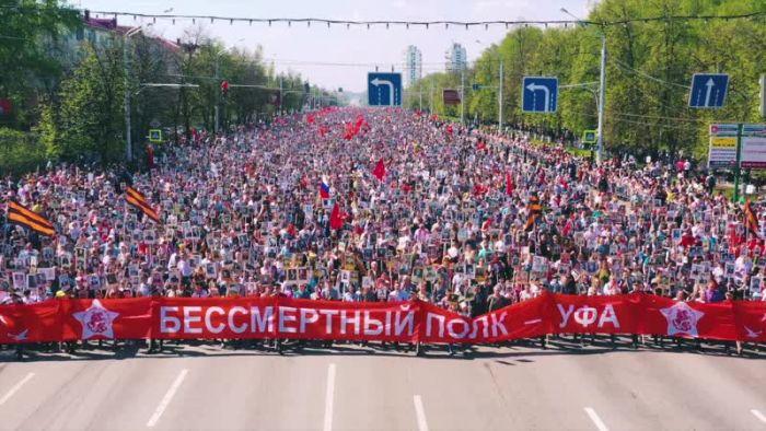 """Шествие """"Бессмертного полка"""" перенесено на 9 мая 2021 года"""