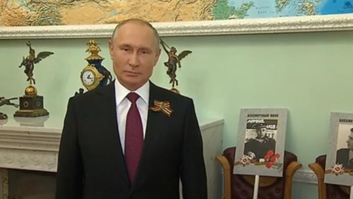 """Путин поддержал перенос акции """"Бессмертный полк"""" на 2021 год"""