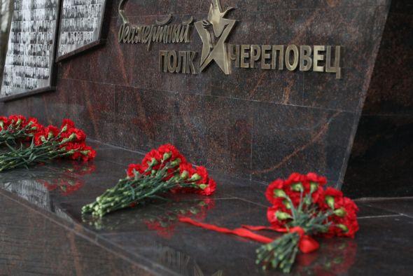 Героев Бессмертного полка в Череповце увековечили на «Стене памяти»