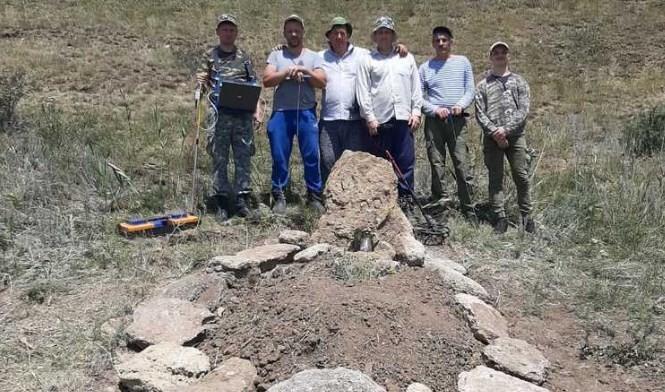 Под Невинномысском поисковики установили место гибели советского летчика