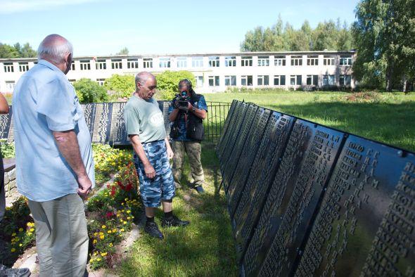 На месте захоронения первого командира 166-й томской стрелковой дивизии будут установлены мемориальные плиты