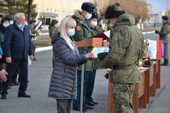 Челябинские общественники поздравили военных разведчиков прославленного соединения