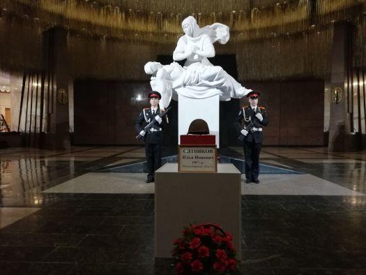 Останки погибшего защитника Отечества переданы томичам