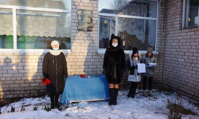 В память о героях войны на Вологодчине открыты еще две мемориальные доски