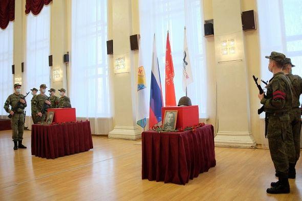 Поисковики вернули в Киров останки двух солдат, павших во время Великой Отечественной войны