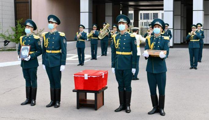 Останки погибшего в Молдове красноармейца доставили в Нур-Султан